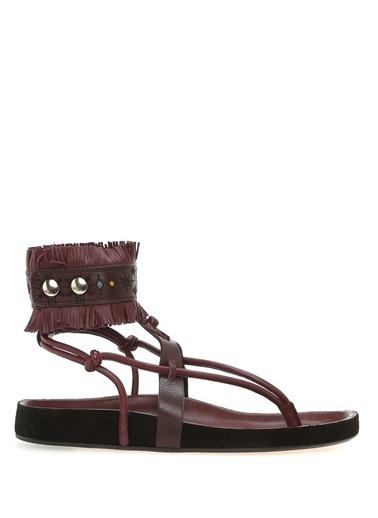 Etoile İsabel Marant Sandalet Bordo